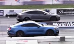 How is this possible?: Ford Mustang beat the Model S Plaid on a straight line