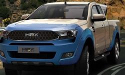 Ford Ranger turned into a hydrogen pickup truck that can reach Europe