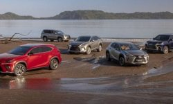 When will Lexus introduce the new RX, GX and LX?