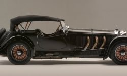 Roadster from the past: for sale exhibited Mercedes-Benz 1928 release