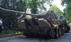 Pensioner fined 250 thousand euros for storing a tank in the house