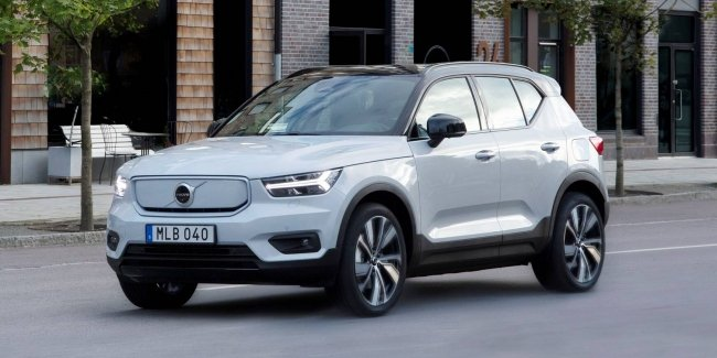 Volvo XC40 Recharge helps to extinguish electric cars more efficiently