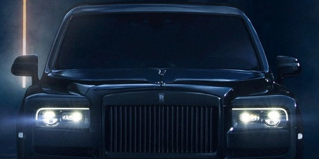 Spies showed the future competitor Rolls-Royce Cullinan from China