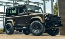 Heritage Customs Vintage supported the conciseness of the Defender with decor