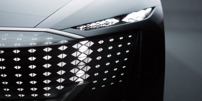 Audi Skysphere: new parts of a luxury electric car