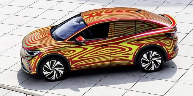 VW will present the European ID.5 GTX in camouflage