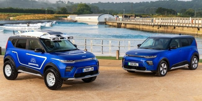 Urgently needed a board: KIA introduced Soul for surfers