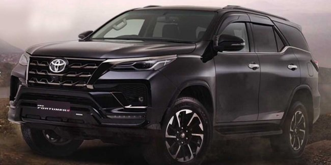 """And this one there: Toyota Fortuner received a """"sporty"""" version of the GR Sport"""