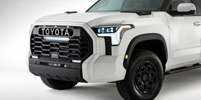 What does the suspension of the new Toyota Tundra look like?