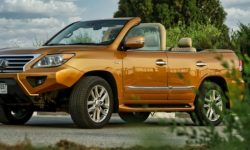 See what the Lexus LX Cabrio looks like (video)