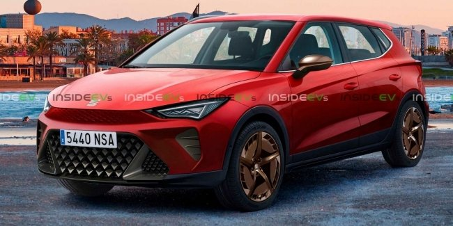 SEAT is preparing an electric crossover Acandra