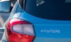 The interior of the most compact crossover Hyundai is revealed