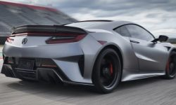 The first Acura NSX Type S sold at auction ten times more expensive than the initial price