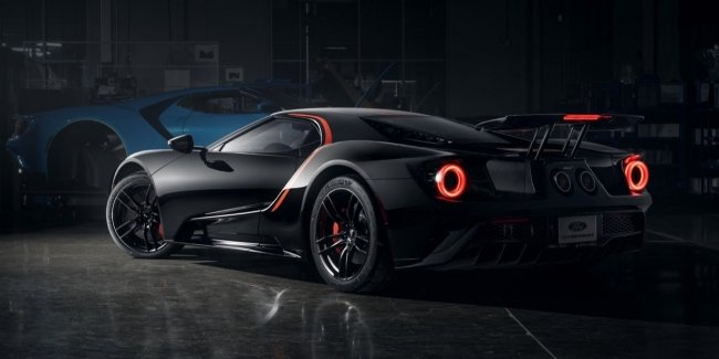And you couldn't do it right away? Ford can release a supercar GT with a V8 engine