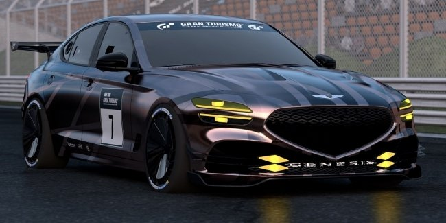 Genesis introduced a racing G70 available to all