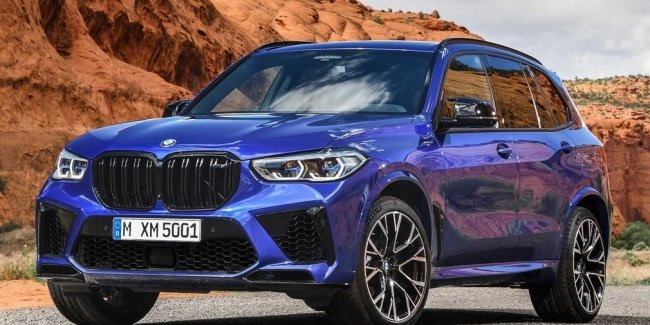 In the Network appeared the first image of the updated BMW X5 M