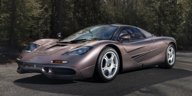 McLaren F1 with a mileage of less than 400 km sold at auction for $ 20 million