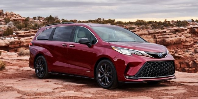 Updated minivan Toyota Sienna will debut at the upcoming motor show in Chengdu