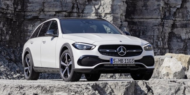The Mercedes-Benz C-Class line was replenished with a new version of the All-Terrain for off-road