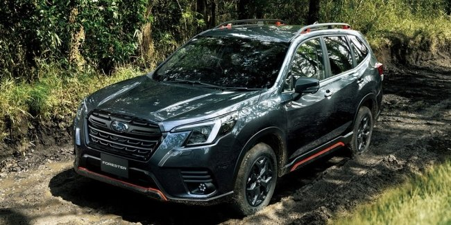 Subaru has launched sales of the updated crossover Forester in Japan
