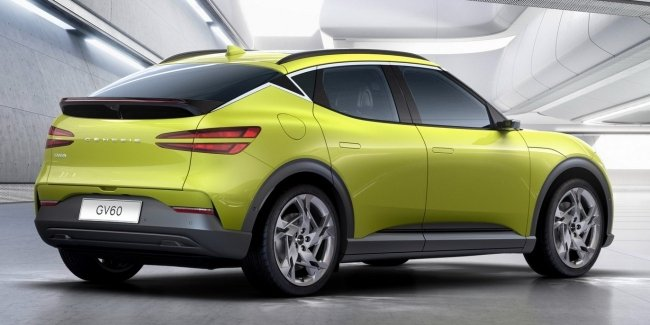 Brand Genesis showed its first electric car – crossover GV60