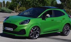 Crossover Ford Puma ST showed excellent results in moose test