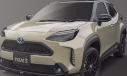 For Toyota Yaris Cross released a new body kit from TOMS