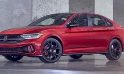 Volkswagen Jetta updated and received a motor from Taos