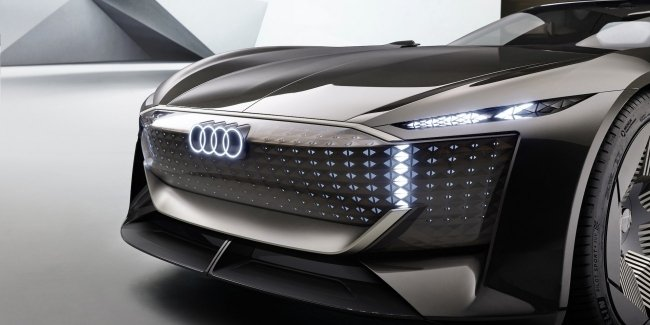 Audi revealed the premiere date of the flagship electric coupe with hinged doors