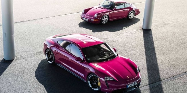 Porsche Taycan received new colors and other improvements