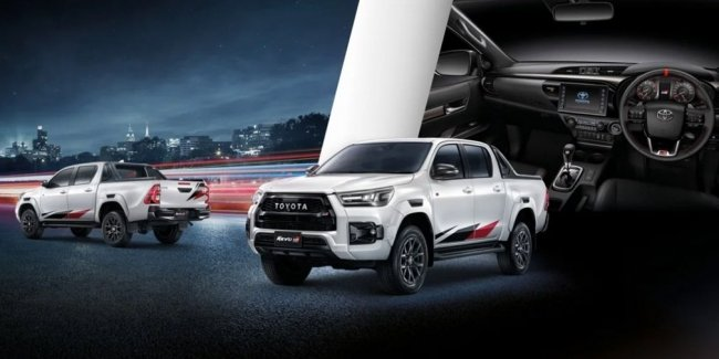 Hilux does not happen much: Toyota introduced two new versions of the pickup