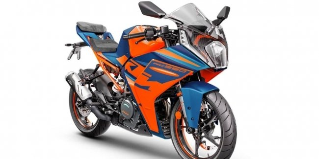 Teaser of the new KTM RC 390 released