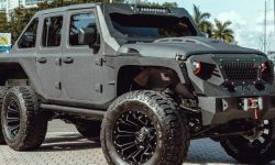 Not in my taste, but cool: Jay Leno appreciated the Jeep Gladiator 6×6