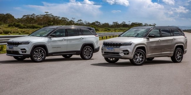 Jeep introduced a new seven-seater crossover