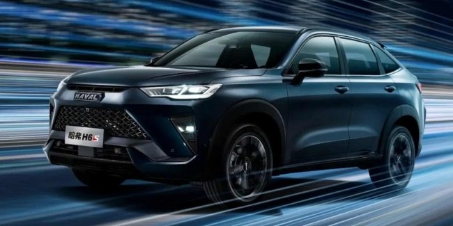 Haval introduced a new crossover H6S