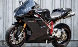 Ducati 1098 2008 release put up for auction