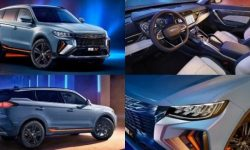 Geely introduced a new crossover in the style of Lexus