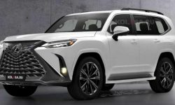 What's with the debut of the new Lexus LX?