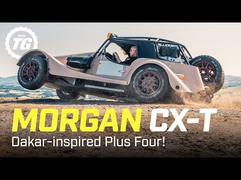 Morgan CX-T Review: Is this Dakar-inspired Plus Four rally car really worth £200k?