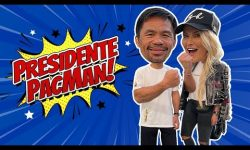 Manny Pacquiao New President of Philippines?!