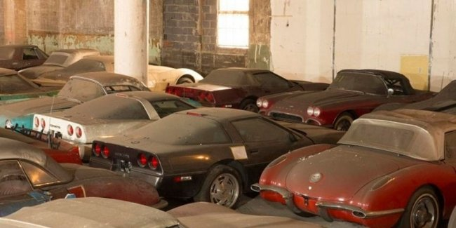 Treasures of the nation: in London found a warehouse of rare cars