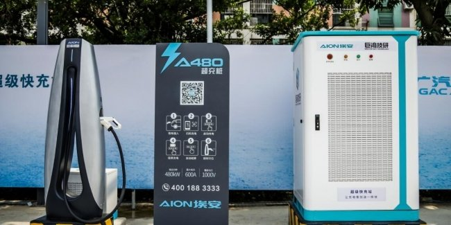 Charging is no longer a problem: GAC Aion introduces ultra-fast charger