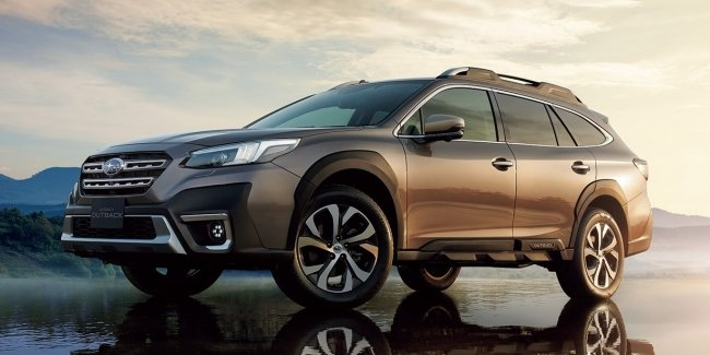 The new Outback has finally reached Japan