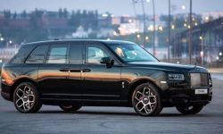 Presented the most unusual limousine Rolls-Royce for oligarchs