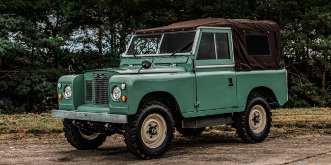 60-year-old Defender turned into an electric car