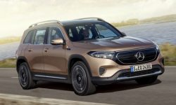 Mercedes EQB: all-wheel drive and version for Europe