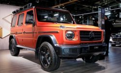 Following the premiere of the EQG, Mercedes updated the classic G-Class
