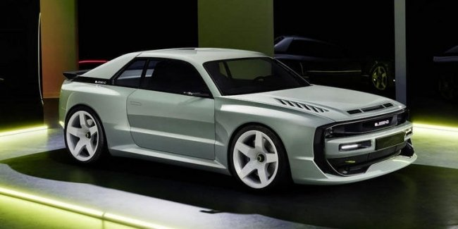 In Munich demonstrated an electric car in the style of Audi Quattro
