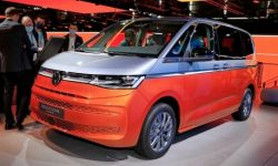 VW introduced a hybrid Multivan with cool technologies