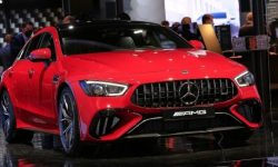 Mercedes-Benz presented the hybrid AMG GT 63 SE Performance at IAA 2021